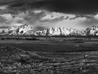 Morning Storm Over Grand Teton