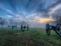 A Foggy Evening On The Battlefield