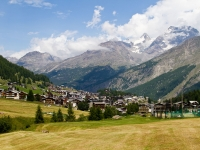View Of Saas Fee