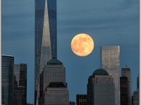 Supermoon Supertower Supercity
