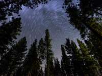 Tahoe Star Trails