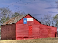 Texas Red Barn
