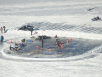 Ice Divers Demonstrations