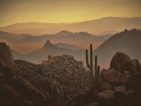 Re: Pre-sunset View From The Tom's Thumb Trail In The Mcdowell Sonoran Preserve