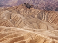 The Badlands At Zabriski Point