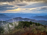 Blue Ridge Blues - Blue Ridge Parkway Scenic Landscape