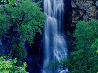 Bridal Veil Falls In Spearfish Canyon Black Hills