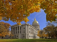 Fall At The West Virginia State Capitol