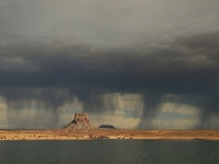 Thunderstorm Over Tower Butte,  Arizona