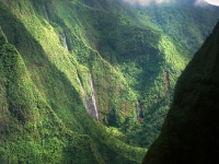 Kauai Canyon By Helicopter