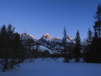 Grand Teton Sunrise.