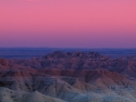 Sunset Badlands National Park