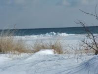 Lake Huron Winter Shore