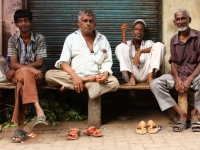 Four Men In India