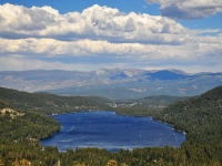 Donner Lake From Donner Pass View Point