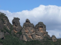 The Three Sisters At Katoomba, Nsw