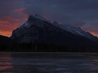 Rundle Mountain Sunrise