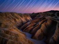 Golden Canyon Star Trails