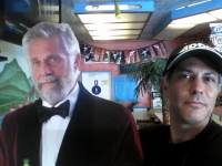 With The Most Interesting Man.