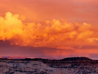 Sunset, Escalante Grand Staircase National Monument, Utah.
