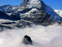 Matterhorn Above The Clouds