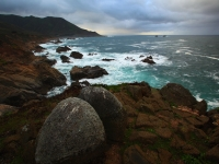 Breaking Storm At Big Sur