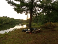 Kayaking The Au Sauble River.