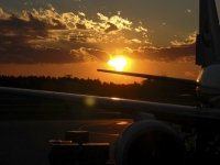 Sunrise On The Tarmac