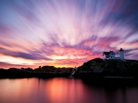 Sunrise Over Nubble Lighthouse