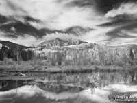 Beckwith Mountain In Monochrome