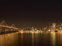 Skyline Of San Francisco At Night