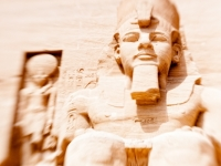 Ramses At Abu Simbel