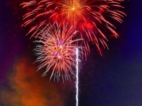 Fourth Of July In The Las Vegas Valley Foothills