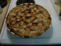 Home Made Rhubarb Pie