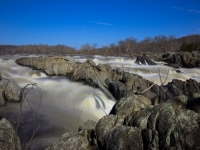 Slow Moment At Great Falls