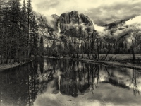 Easter 2013: Yosemite Valley Reflection