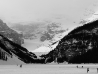 Lake Louise In The Winter