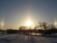 Sundogs Over The St. Joe