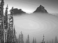 Fog On The Tatoosh Range
