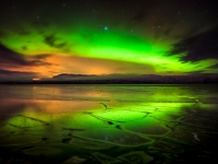 Northern Lights Reflected