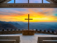 Pretty Place Chapel Sunrise - Blue Ridge Mountains