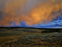 Afternoon Thunderstorm - Yellowstone