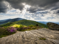 Heaven And Earth - Jane Bald Roan Mountain Highlands Nc / Tn