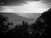 Storm Over The Grand Canyon