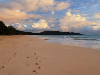 Waimanolo Beach Footprints