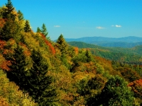 Smoky Mountains In Color