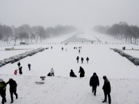 National Mall Under Snow