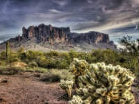 An Evening At The Superstitions