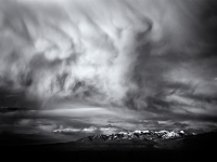 Clouds Over The La Sal Mountains