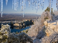 Ice Storm At Mohonk Mountain House